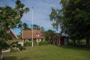 Typical swedish small farm